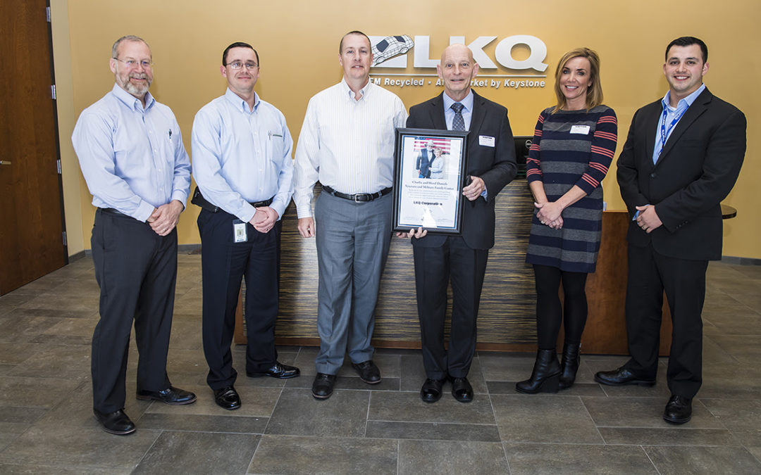 MTSU's Daniels Center recognizes LKQ Corporation for hiring student veterans