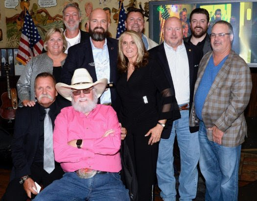 "SECOND ""CHARLIE DANIELS PATRIOT AWARD DINNER"" RAISES OVER $200,000 FOR U.S. MILITARY VETS"